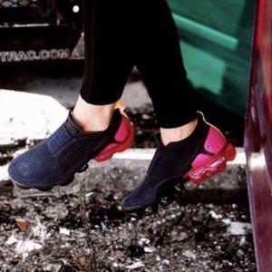 Nike Air VaporMax Flyknit MOC 2 Running Shoe Navy